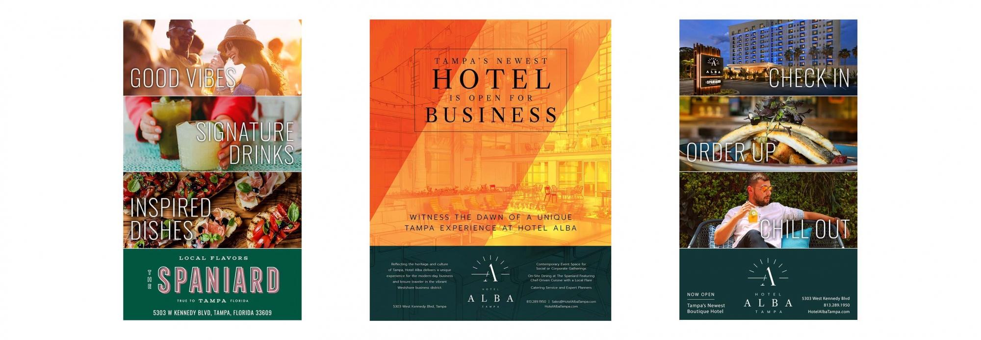 Hotel Alba Print Ads