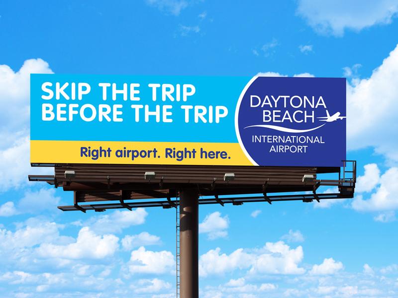 Daytona Beach International Airport Outdoor Board